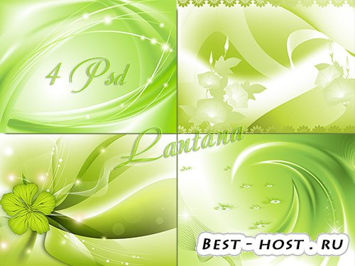 PSD исходники - Танго зелёной травы