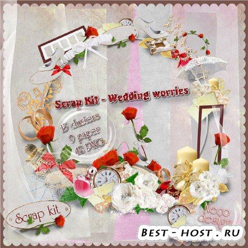 Скрап-набор - Wedding worries