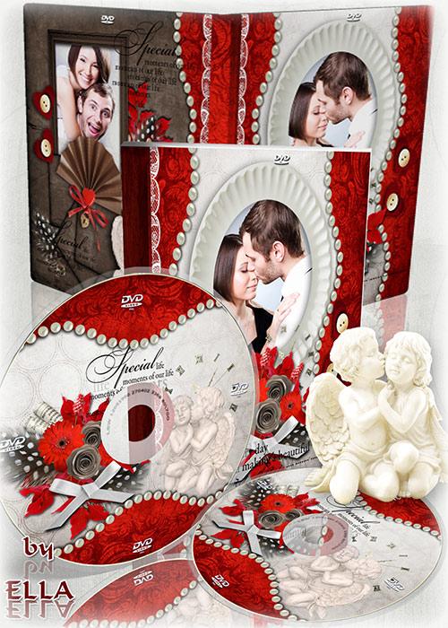 Романтичный  DVD набор в винтажном стиле - Все мысли о тебе