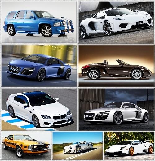 Обои - Легковые автомобили разных стран