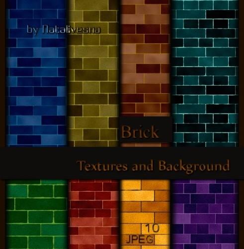 Текстуры для Photoshop – Кирпичная стена