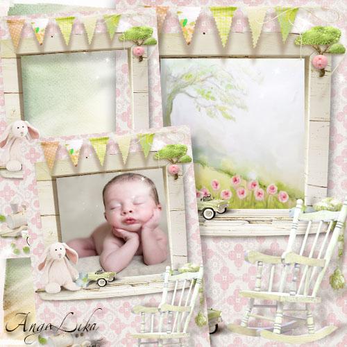 Фоторамка для малышей - Окно в детство