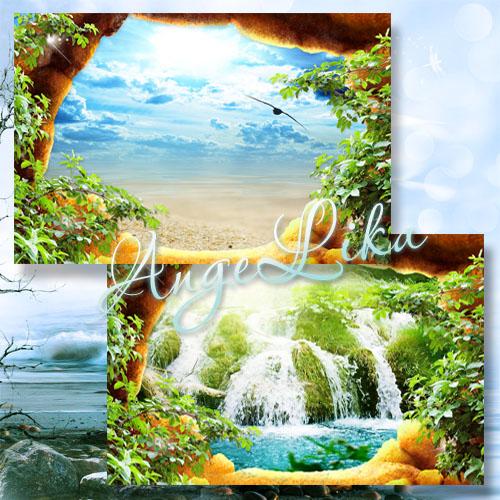 Фоторамка - Наш райский уголок
