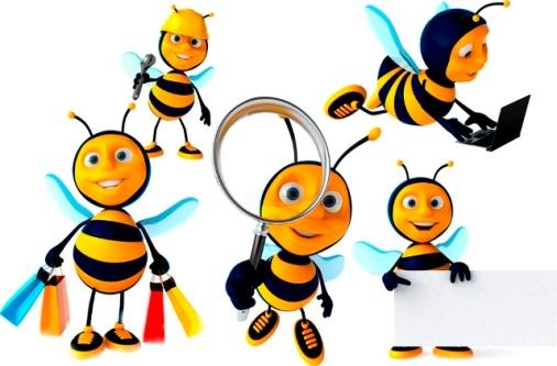 Клипарт-Твой Друг Пчелка