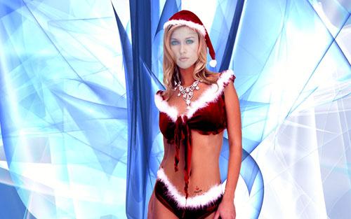 Шаблон женский - взрослый костюм снегурочки