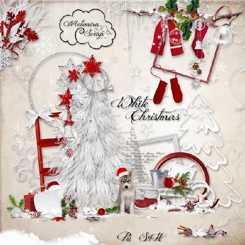 Scrap Kit: Белоснежное Рождество