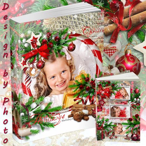 Новогодняя фото книга - Светлый праздник Рождества