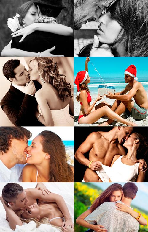Тематический клипарт-Влюблённые пары