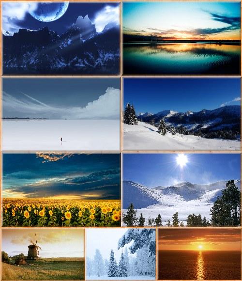 Обои - Виды и пейзажи нашей планеты