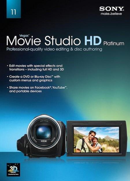 Sony Vegas Movie Studio HD Platinum 11.0 Build 295 Production Suite - Скача ...
