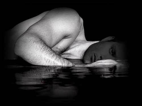 Шаблон для фотошоп - мужская фотосессия