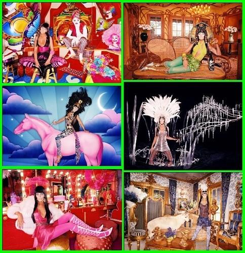 Сборник женских шаблонов Цветные фантазии