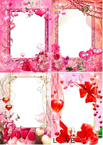 Рамочки для фотошопа - Для тебя с любовью…