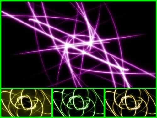 VH сток абстрактных футажей (часть 2)
