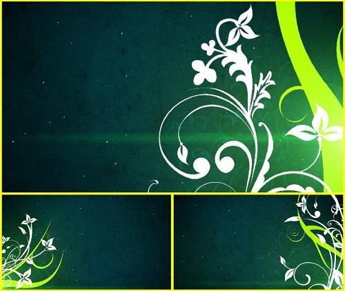 HD фоновый футаж с цветами