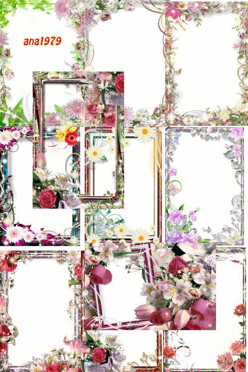Сборник рамок - Сегодня за окном весна