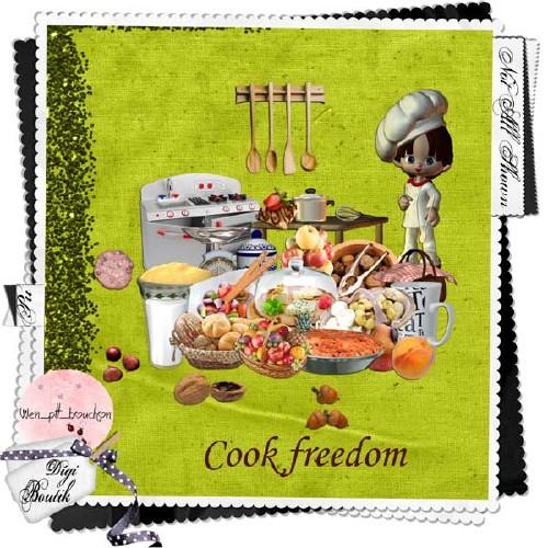Кулинарный скрап-набор - Фантазии повара