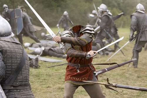 Шаблон для photoshop - смелый воин