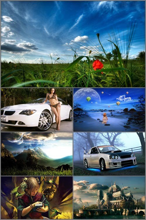 Сборник HD обоев - Ассорти 2