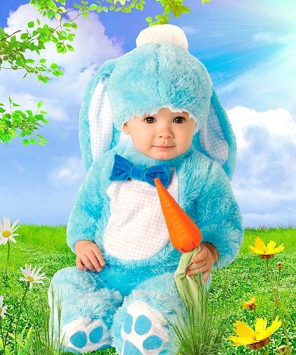Детский фотошаблон - Я люблю морковку