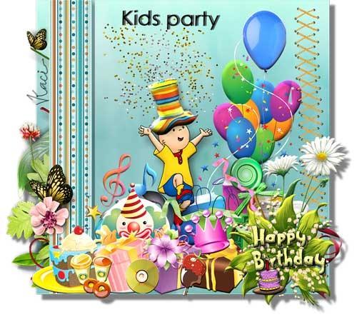 Детский скрап-набор - Детский праздник