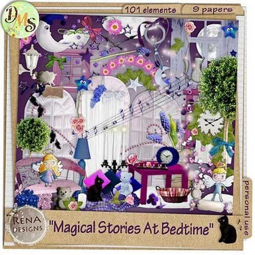 Волшебный скрап-набор - Волшебная история на ночь
