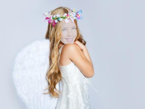 Шаблон для детей - Милый ангелок