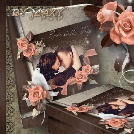 Романтический фотоальбом - Фотокнига о романтической поездке