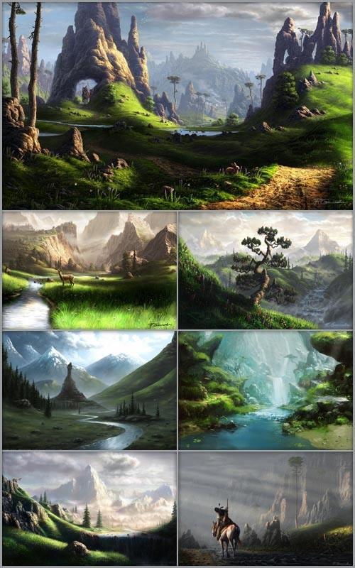 Фантастические пейзажи 2