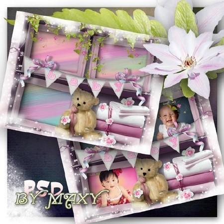Рамка для фотографий детская - Полочка малыша