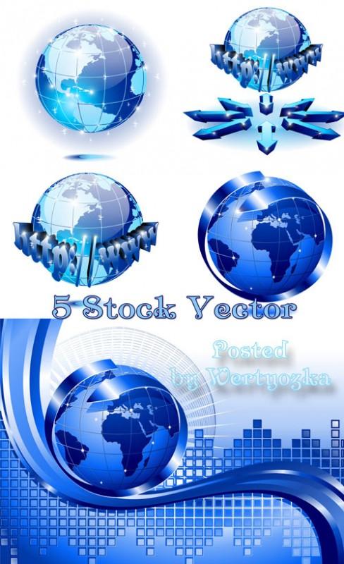 Всемирная сеть интернет - векторный клипарт