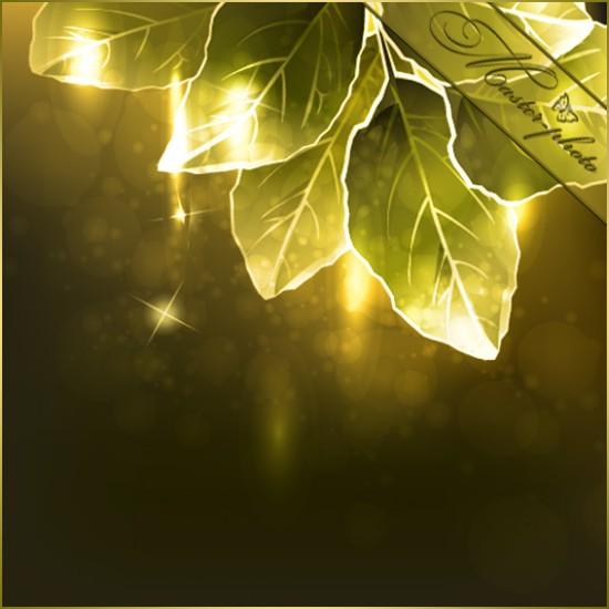 Многослойный PSD исходник для фотошопа - Сказочный лес