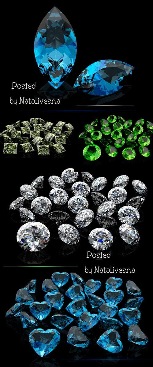Драгоценные камни - Фото сток