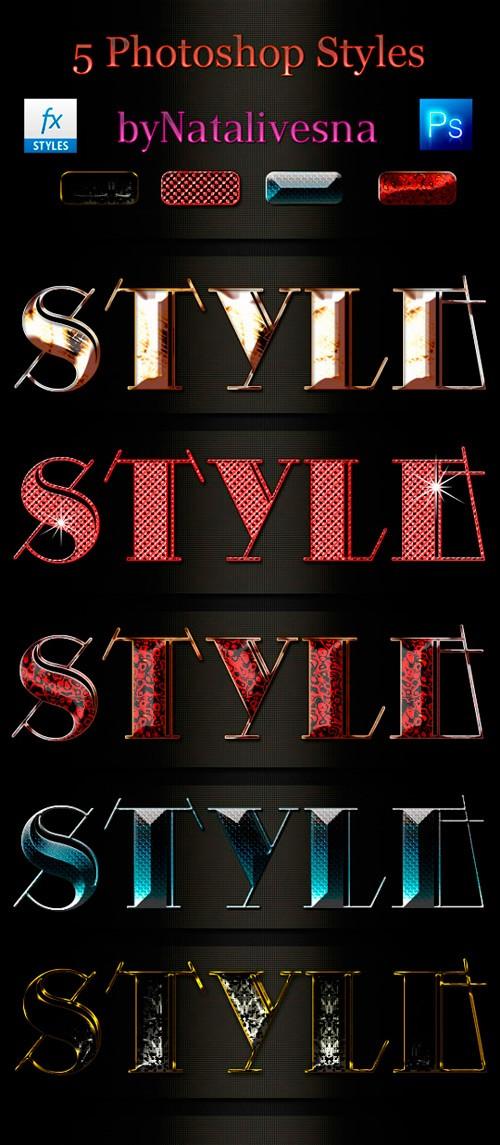 Стили для Дизайна – Яркий стиль