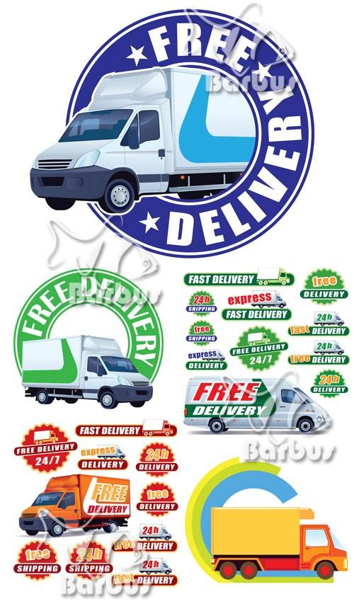 Delivery labels / Лэйблы - Доставка