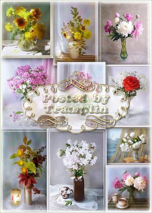Натюрморты – Букеты цветов