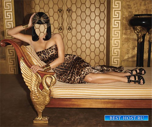 Женский шаблон - Царица Египта