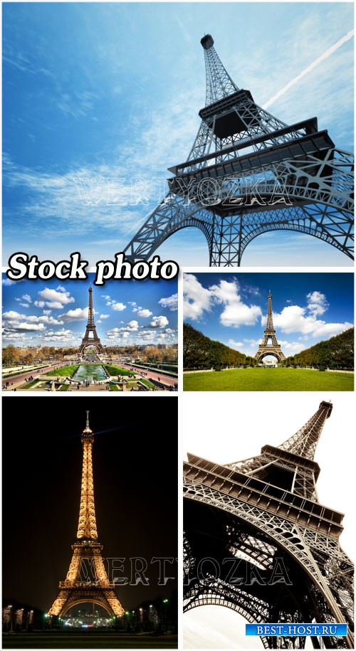 Эйфелева башня в Париже / Eiffel tower in Paris
