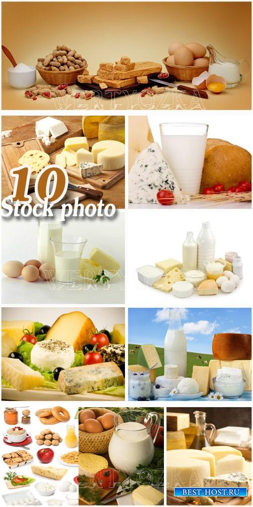 Различные продукты питания / Products, milk, cheese, bread, eggs