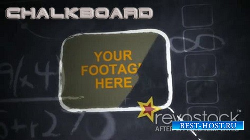Chalkboard - Project for After Effects (Revostock)