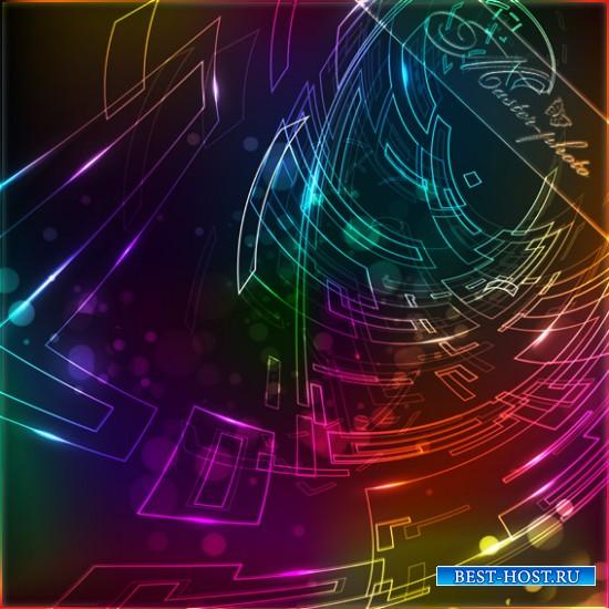 PSD многослойный исходник - Фоны абстрактные