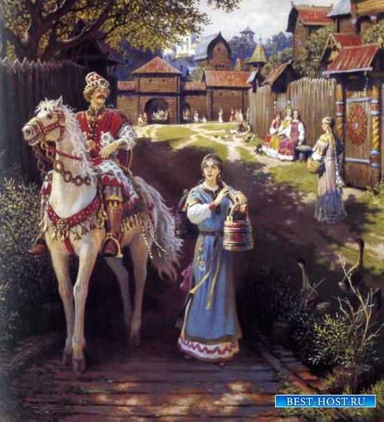 Исторические факты, былины и предания в картинах Бориса Ольшанского