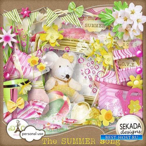 Яркий летний скрап-комплект - Летняя песенка