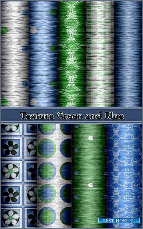 Текстуры для фотошопа зеленых и синих оттенков
