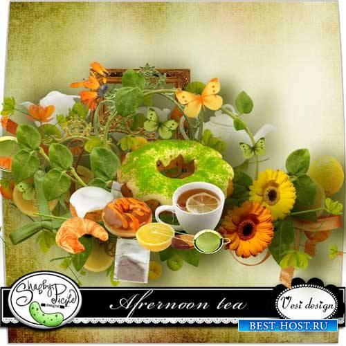 Классический скрап-комплект - Вечерний чай
