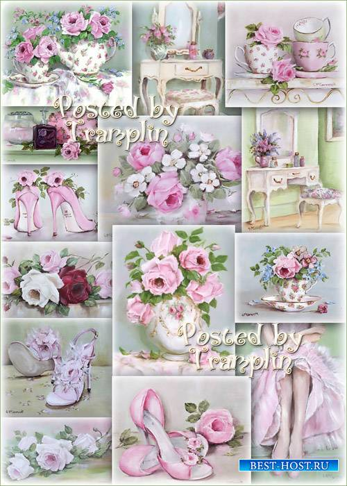 Розовый винтаж от Gail Mccormack