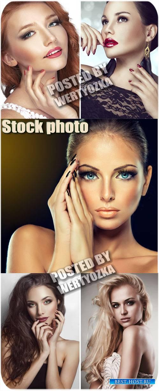 Стильные и красивые девушки / stylish and beautiful girl - Stock photos