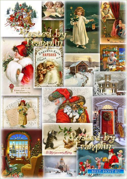 Новогодний и рождественский винтаж – Вернут нас в прошлое