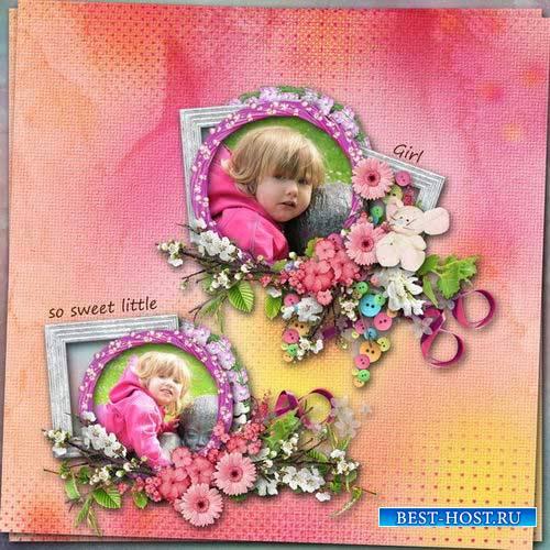 Детский скрап-комплект - Прекрасное детство