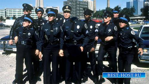 Шаблон для фотомонтажа - Знаменитая полицейская команда